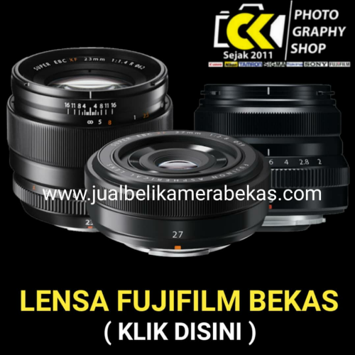 Fujifilm Lens (Used Items)