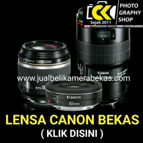 Canon Lens (Used Items)