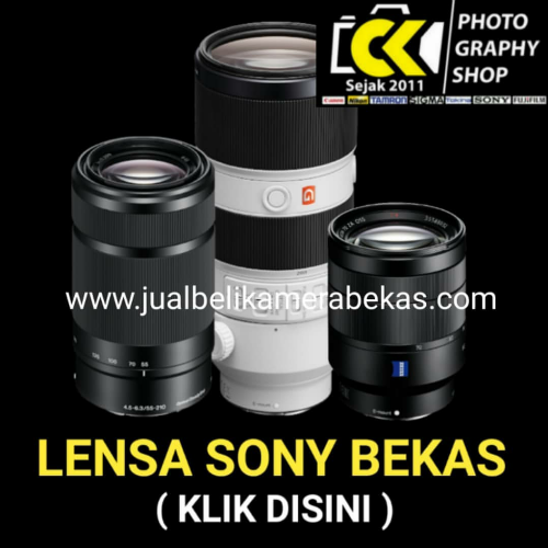 Sony Lens (Used Items)
