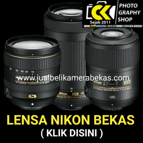 Nikon Lenses (Used Item)