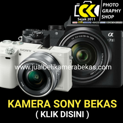 Sony Camera (Used Items)