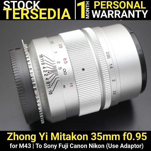 Zhongyi 35mm f0.95 for Sony
