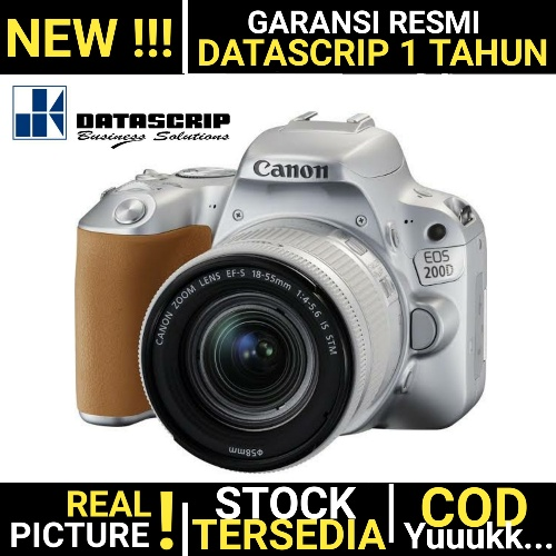 Canon EOS 200D Kit 18-55mm IS STM (NEW)