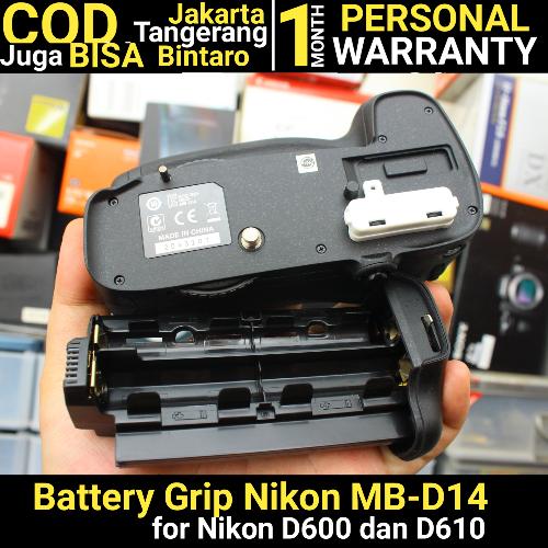 Nikon MB-D14  for D600 dan D610